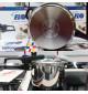 Nồi áp suất Inox 304 ELO Praktika Plus XL 3L hàng nhập (Tặng kèm vung kính)