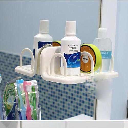 Kệ để đồ nhà tắm nhỏ xinh hít tường KM 1010 hàng Nhật