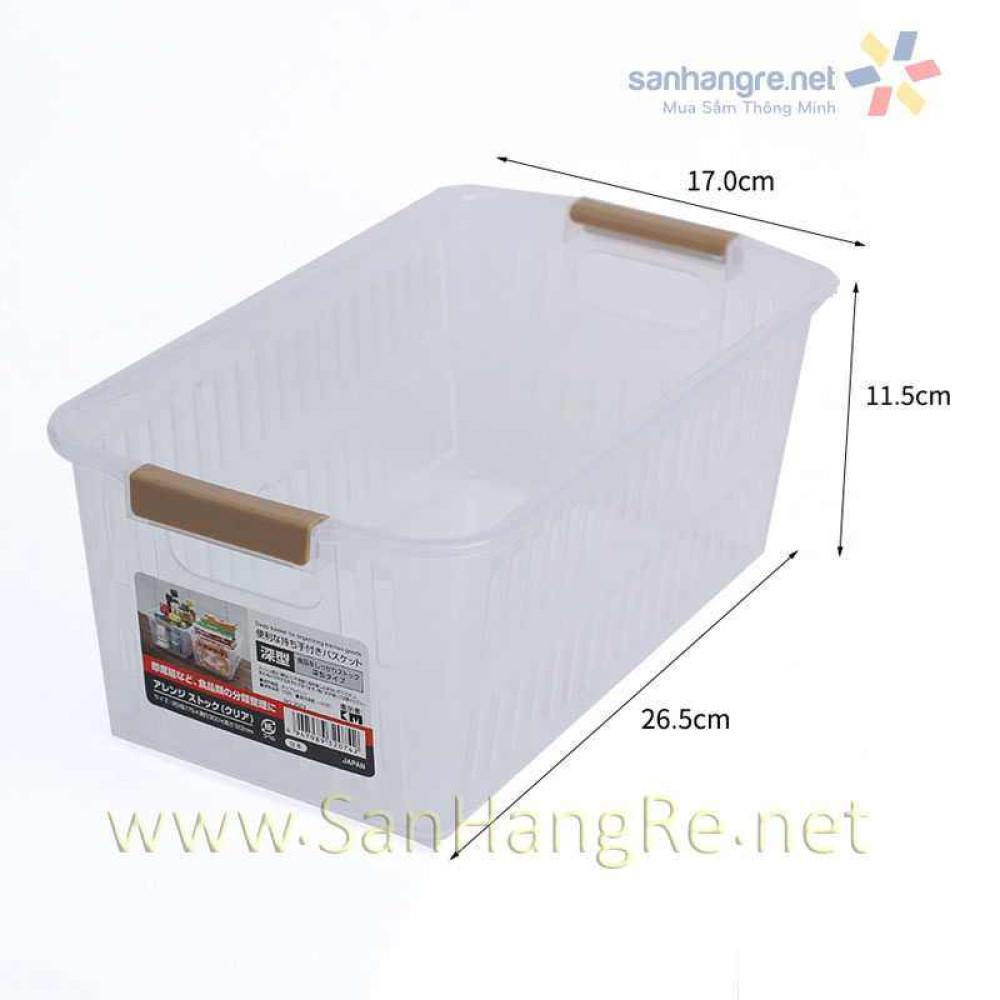 Rổ nhựa đựng đồ nhà bếp KM 2074 hàng Nhật