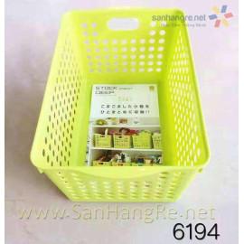 Rổ nhựa đựng đồ nhà bếp Niheshi 6194 hàng Nhật