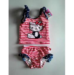 bộ bơi kitty kẻ bé gái ( sz 24ms, 4 tuổi)