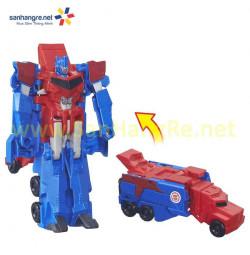 Đồ chơi Robot Transformers biến hình siêu tốc xe container Optimus Prime