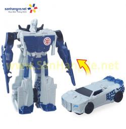Đồ chơi Robot Transformers biến hình siêu tốc ô tô Sidewipe Ninja 2 RID