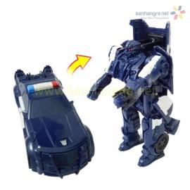 [SALE] Đồ chơi Robot Transformers One Step - Ô tô cảnh sát Barricade (No Box)
