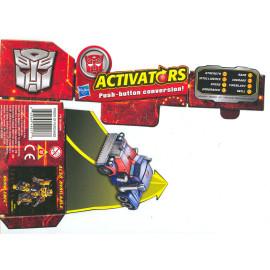 Đồ chơi Robot Transformers Optimus Prime - Activators (Box)