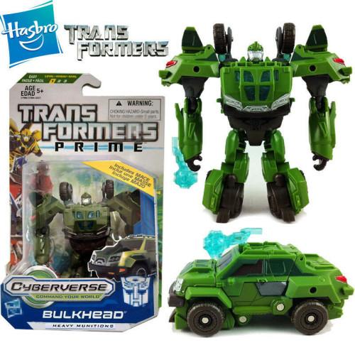 Đồ chơi Robot Transformers Prime Cyberverse Bulkhead - Heavy Munitions (Box)