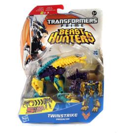 Đồ chơi Transformer - Robot biến hình Beast Hunters Twinstrike Predacon (Box)