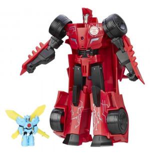 Đồ chơi Robot Transformers Power Surge Sideswipe và Windstrike (nắp Pin AA)