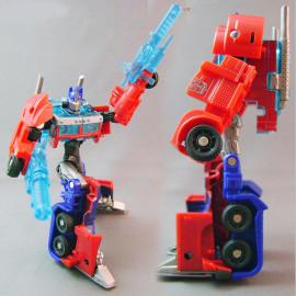 Đồ chơi Robot Transformers Prime Cyberverse Optimus Prime - Autobot Commander (Box)