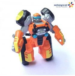Robot Transformer Flight Bots 4M biến hình xe motor 4 bánh