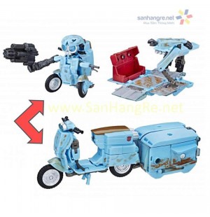 Robot biến hình xe máy Transformers The Last Knight - Autobot Sqweeks