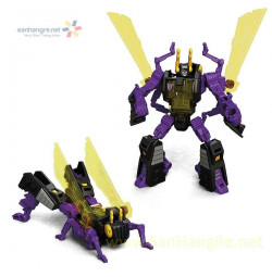Robot Transformers biến hình con ruồi Titans Return - Kichback