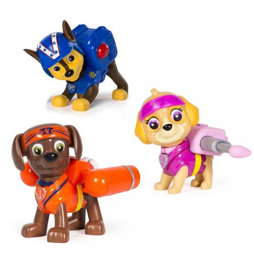 Bộ 3 chó Paw Patrol Hero Pup Toy - Karate Zuma, Skye và Chase