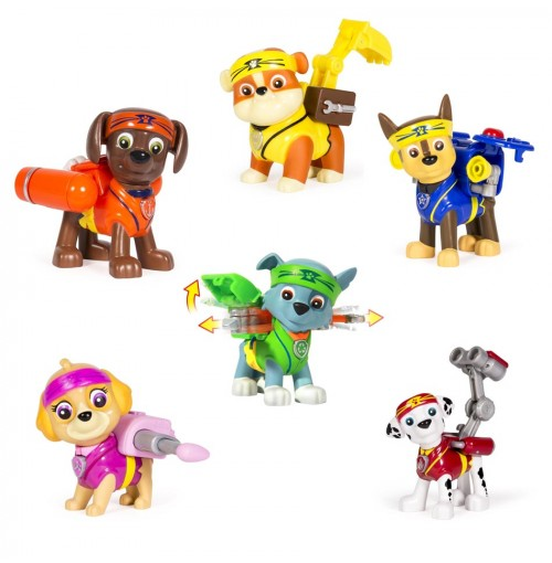 Bộ 6 chó tuần tra Paw Patrol Hero Pup Toy Karate Series