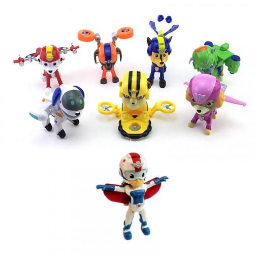 Bộ đồ chơi đội trường Ryder và 7 chó Air Rescue Paw Patrol