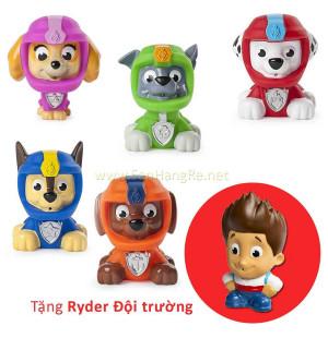 Bộ 5 chó bơi phun nước Paw Patrol - Đội phi hành gia (Tặng đội trưởng Ryder)