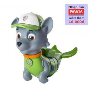 Chó bơi phun nước Paw Patrol - Rocky người cá