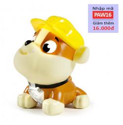 Chó bơi phun nước Paw Patrol - Rubble đội mũ