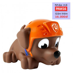 Chó bơi phun nước Paw Patrol - Zuma đội mũ
