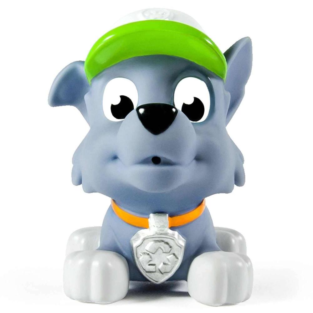 Chó bơi phun nước Paw Patrol - Rocky đội mũ