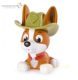 Chó bơi phun nước Paw Patrol - Rubble cao bồi