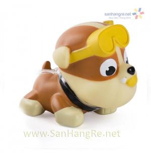 Chó bơi phun nước Paw Patrol - Rubble thợ nặn