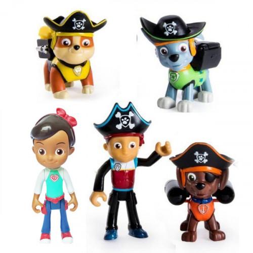 Bộ 3 cướp biển Paw Patrol chức năng và cặp đôi Ryder Katie