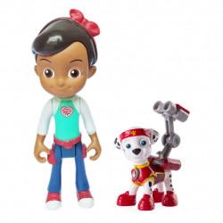 Bộ đôi Cô bé Ruty và chó cứu hộ Paw Patrol Marshall 03