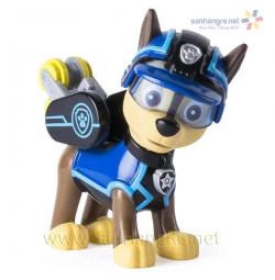 Chó chức năng Paw Patrol đeo kính Chase