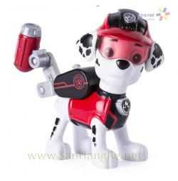 Chó chức năng Paw Patrol đeo kính Marshall