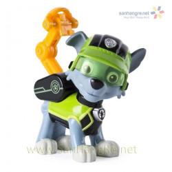 Chó chức năng Paw Patrol đeo kính Rocky