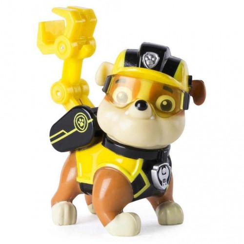 Chó chức năng Paw Patrol đeo kính Rubble