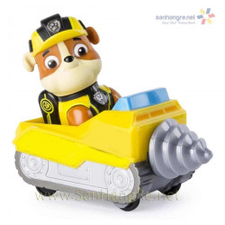 Đồ chơi Paw Patrol xe khoan đá và chó Rubble