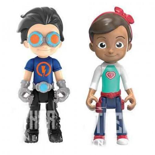 Bộ đôi Cậu bé Siêu nhân Rusty Rivets và cô bé Ruby
