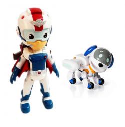 Đồ chơi đội trưởng Paw Patrol Rescue Ryder Flyman và Robo Dog