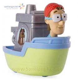 Đồ chơi Paw Patrol Bác Thuyền trưởng Turbot liền thuyền
