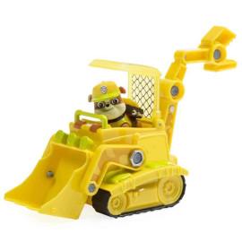 Đồ chơi Paw Patrol xe công trình và chó Rubble Jungle Bulldozer