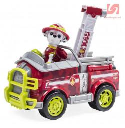 Đồ chơi Paw Patrol xe cứu hỏa và chó Marshall nhanh nhẹn