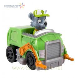 Đồ chơi xe chó Paw Patrol Racer - Rocky