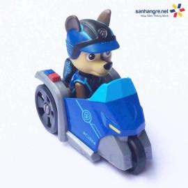 Đồ chơi Paw Patrol xe mô tô và chó Chase 02