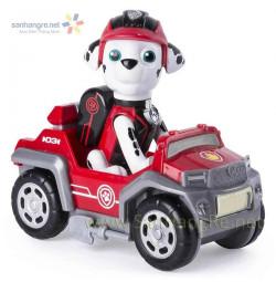Đồ chơi Paw Patrol xe ô tô và chó Marshall 03