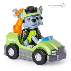 Đồ chơi Paw Patrol xe ô tô và chó Rocky 05