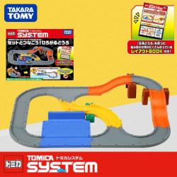 Bộ đường đua kết nối xe Tomica System Connect And Play Set Extension Road