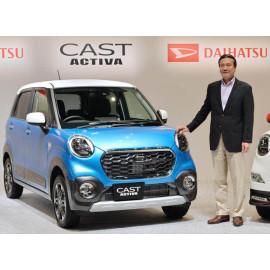 Xe ô tô mô hình Tomica Daihatsu Cast No 46 - Xanh biển