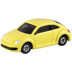 Xe mô hình Tomica Volkswagen the Beetle Yellow (No box)