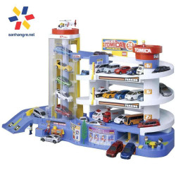 Mô hình nhà đỗ xe Tomica Super Auto Building