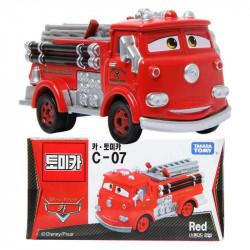 Xe cứu hỏa mô hình Tomica Disney Pixar Cars Red Fire Engine (Box)