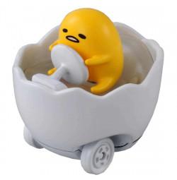 Xe mô hình trứng biến thái Tomica Disney Gudetama