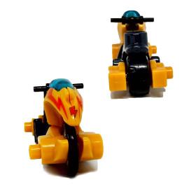 Xe mô hình Tomica Disney Motorbike Orange  (No Box)