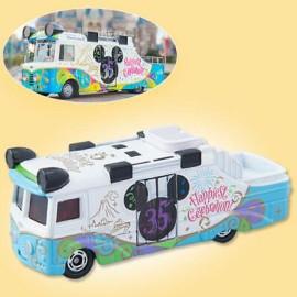 Xe Mô Hình Tomica Disney Resort TDS 35th Happiest Celebration Xanh (No Box)